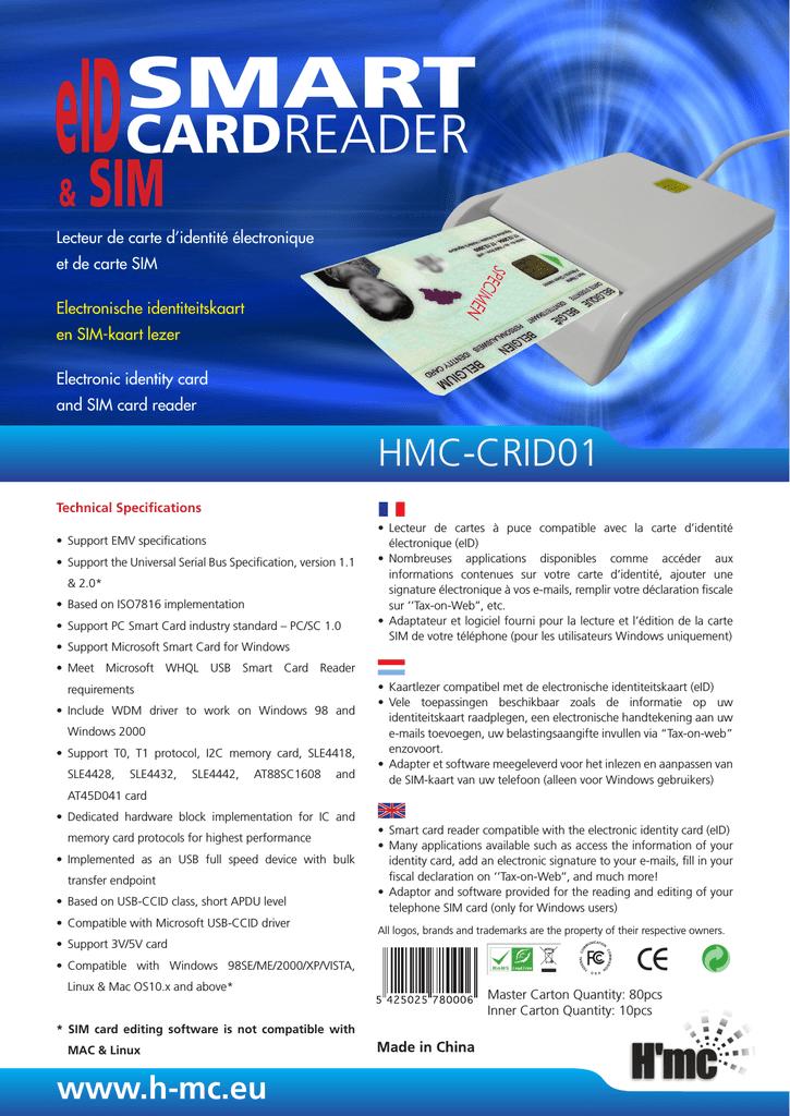 h'mc hmccrid01 datasheet  manualzz
