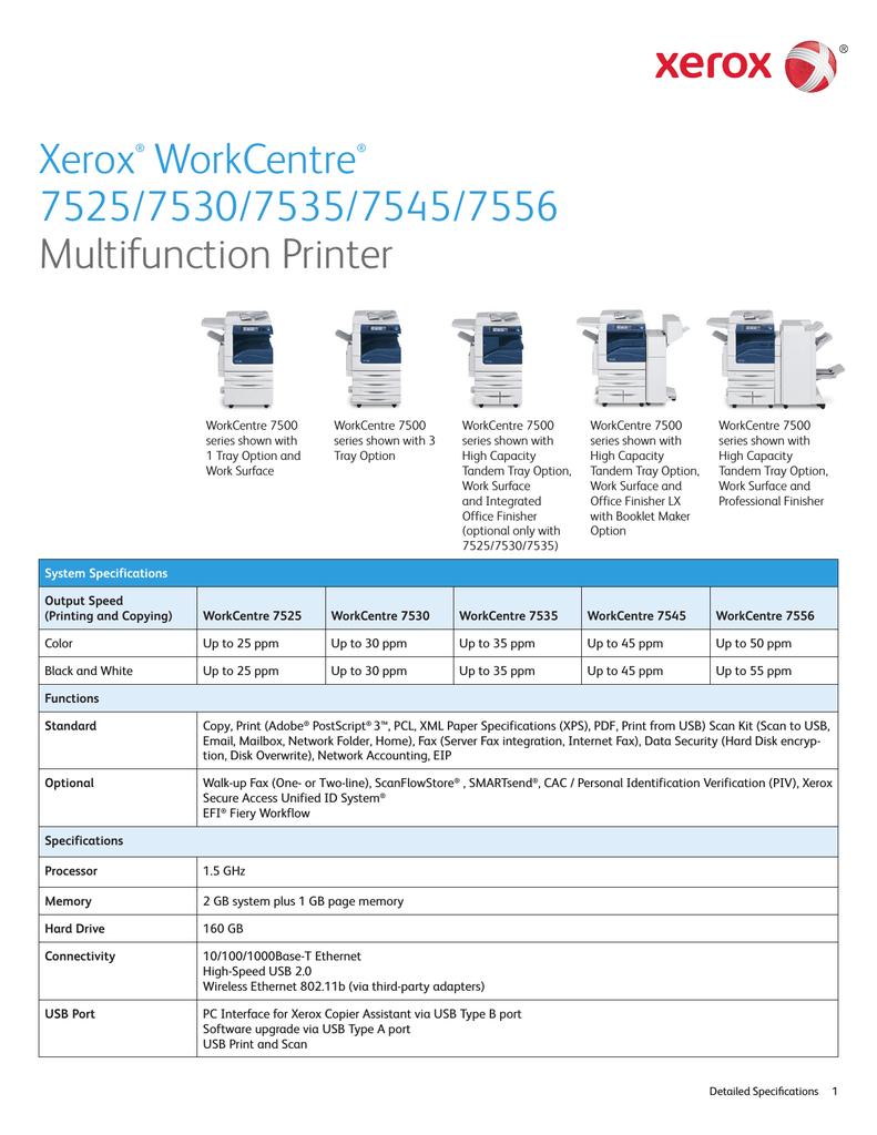 Xerox WorkCentre 7535_S | manualzz com