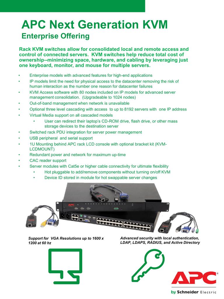 APC KVM USB VM Server Module