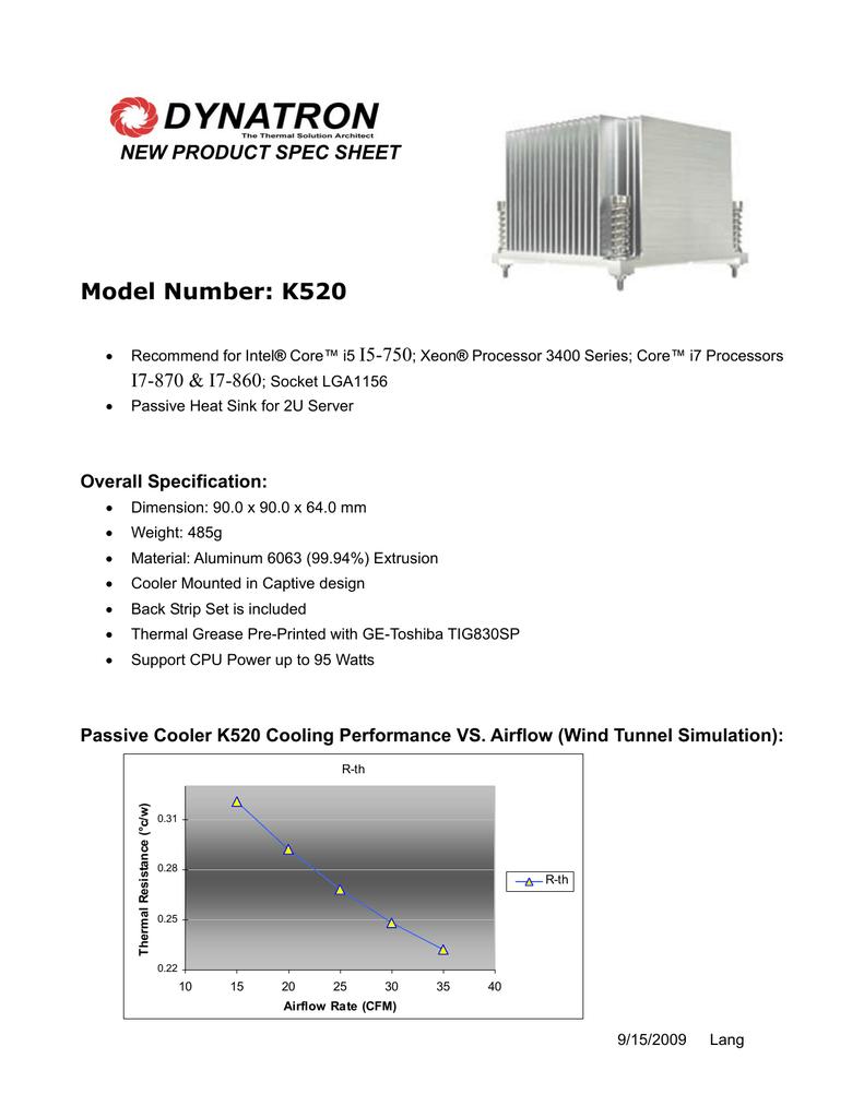 Dynatron K520 | manualzz com