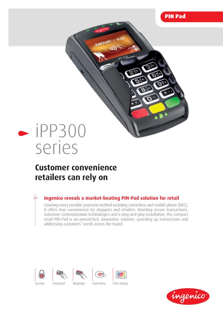 Ingenico IPP320 | manualzz com