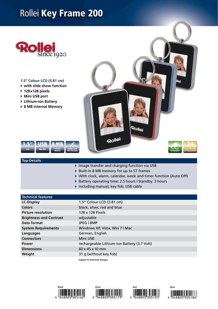 Rollei Key Frame 200   manualzz com