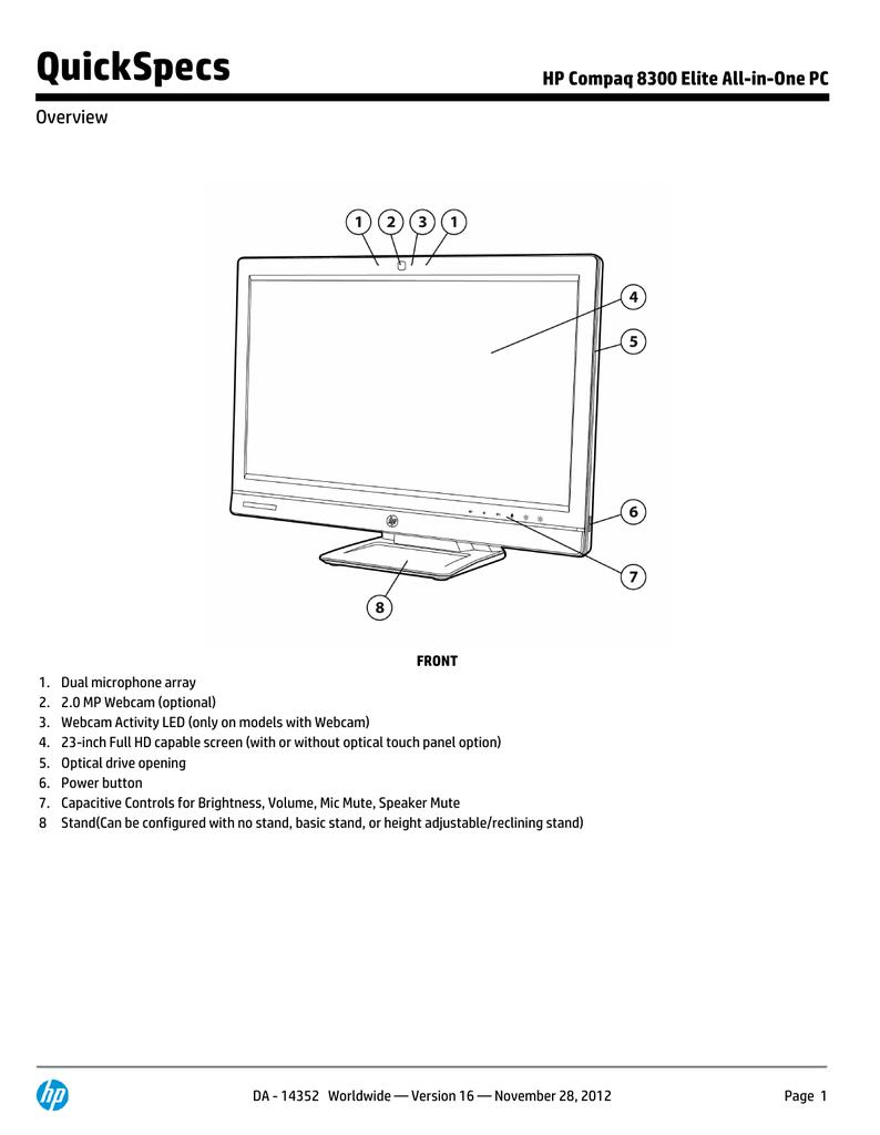 HP Compaq Elite 8300 | manualzz com
