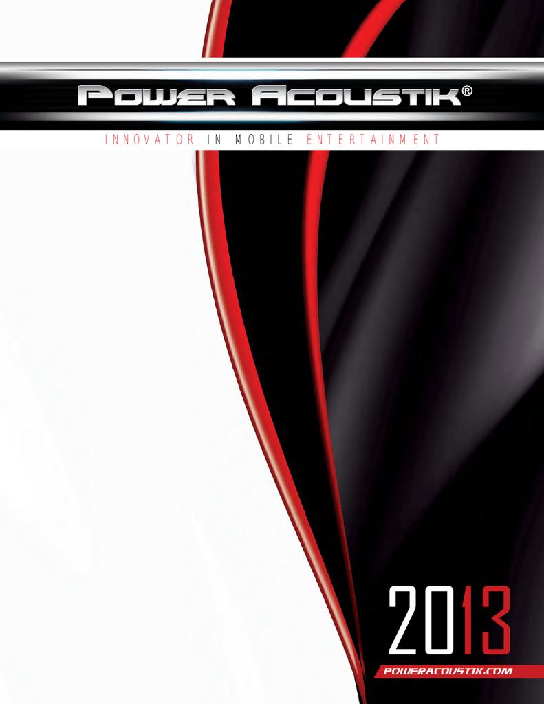 Power Acoustik P81ACRD car media receiver   manualzz com