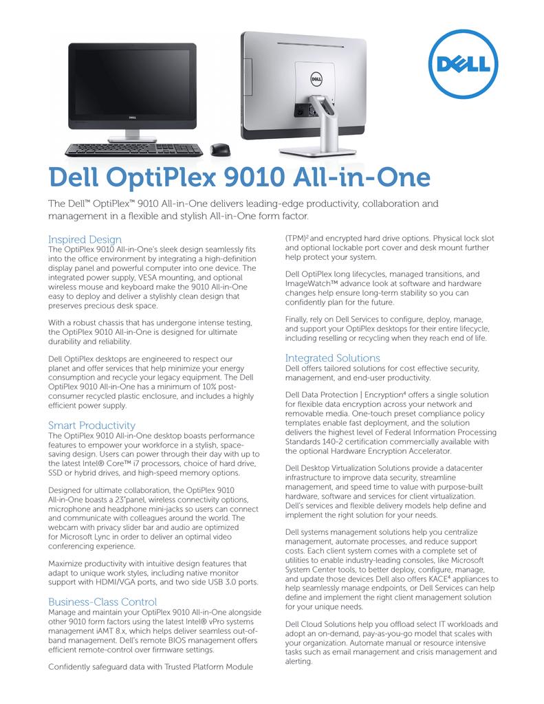 DELL OptiPlex 9010   manualzz com