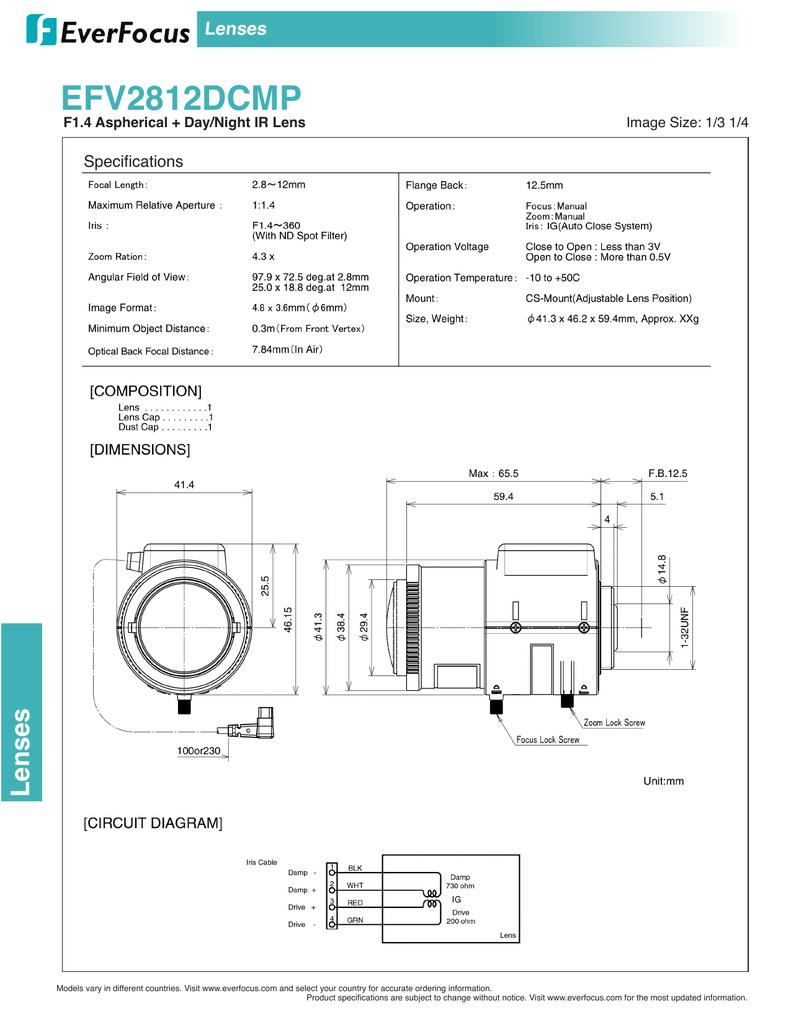 everfocus efv-2812dcmp   manualzz  manualzz