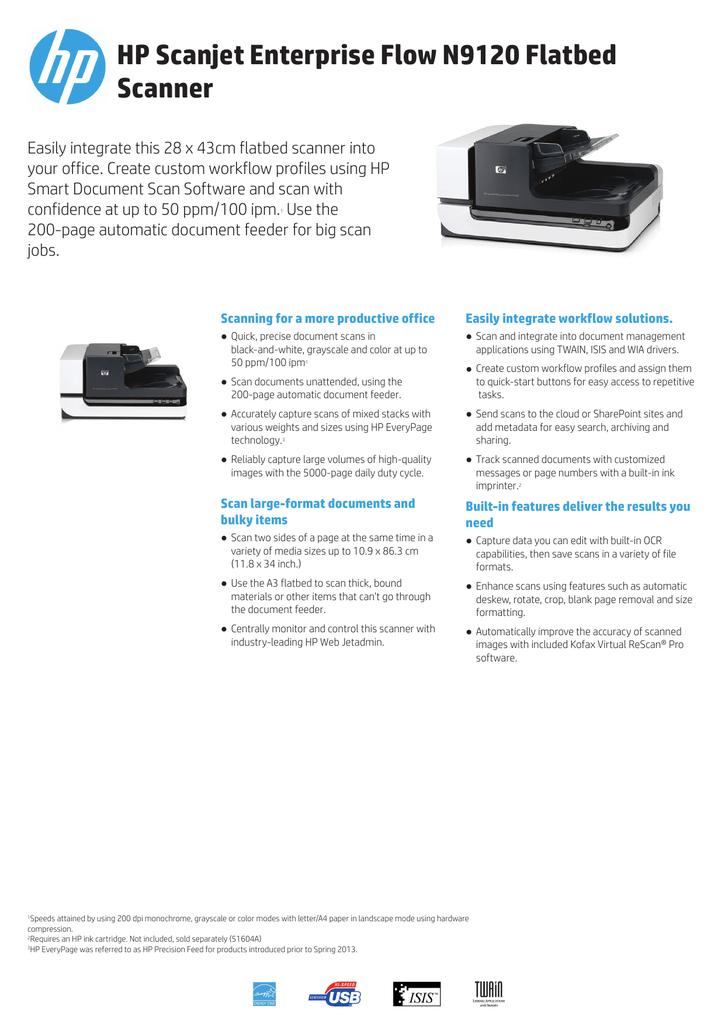 HP Scanjet N9120 | manualzz com