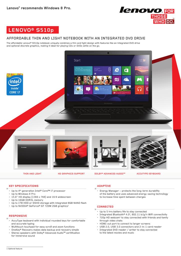 Lenovo IdeaPad S510p | manualzz com