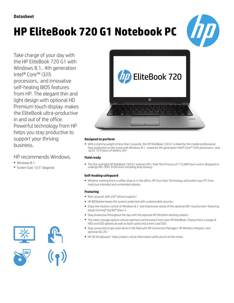 HP EliteBook 720 G1   manualzz com