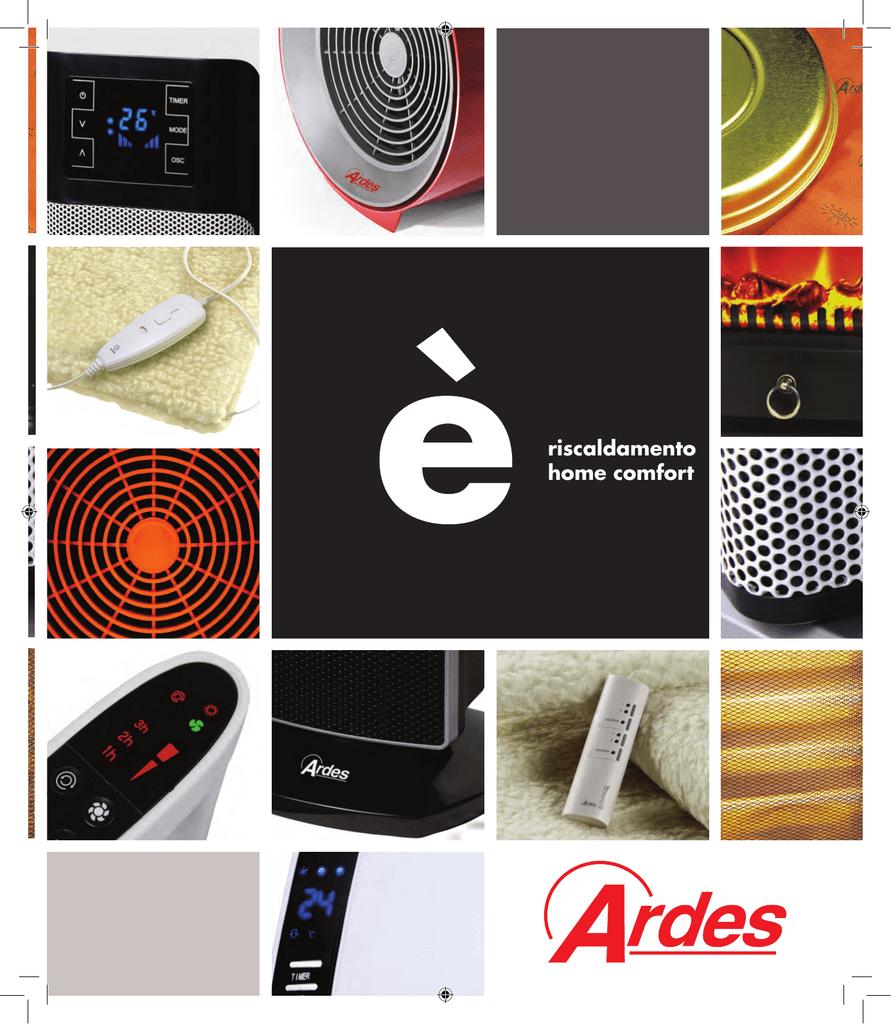 Ardes Scaldaletto Buonanotte.Ardes 4w05 Space Heater Manualzz Com