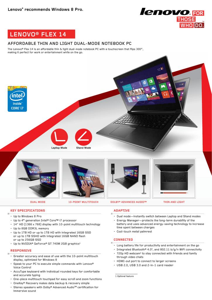 Lenovo IdeaPad Flex 14 | manualzz com