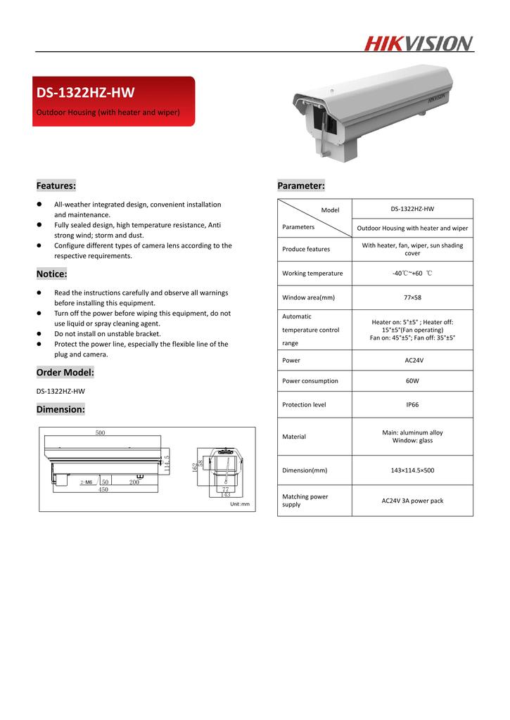 Hikvision Digital Technology DS-1322HZ-HW | manualzz com