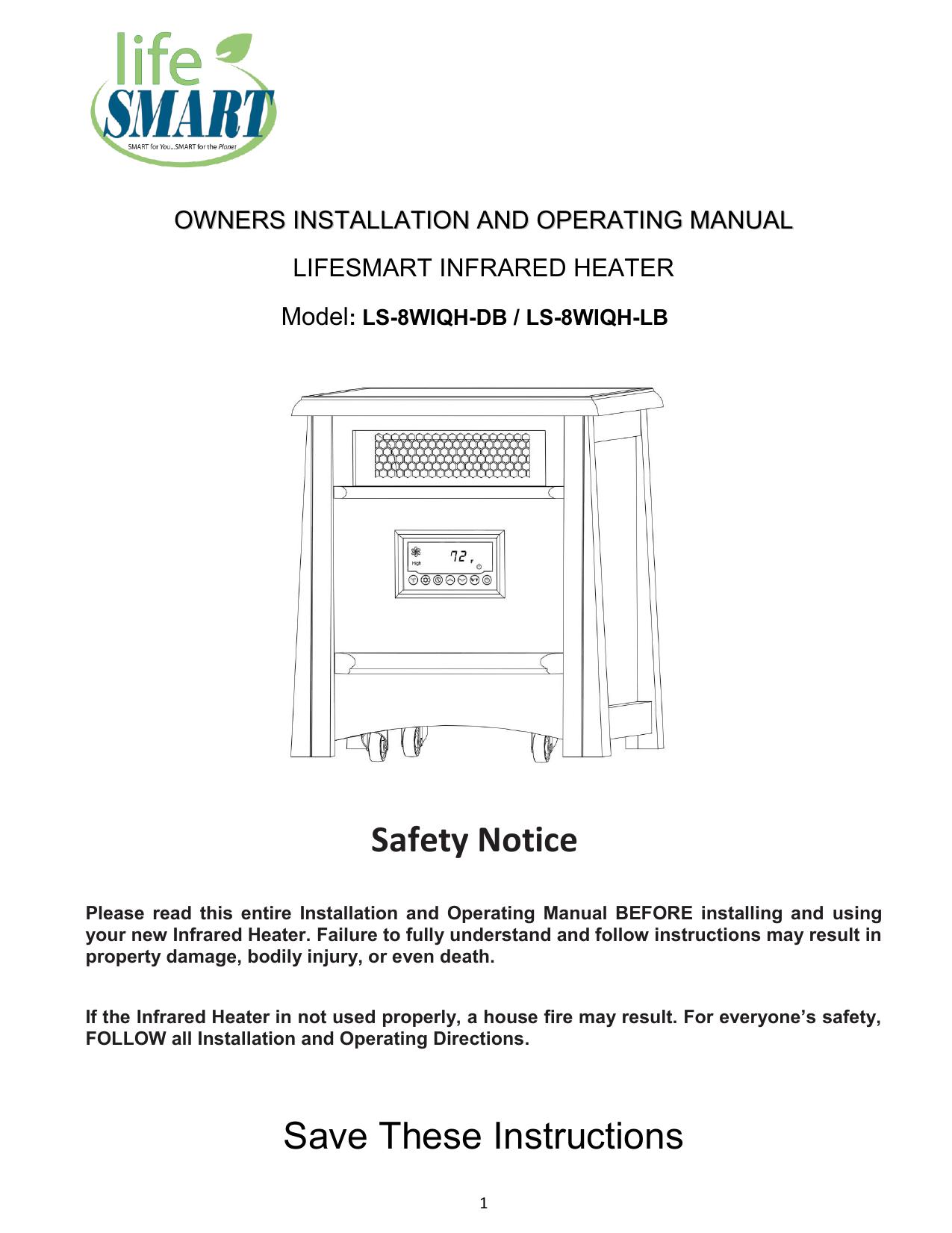 infrared heater air water manualzz com rh manualzz com