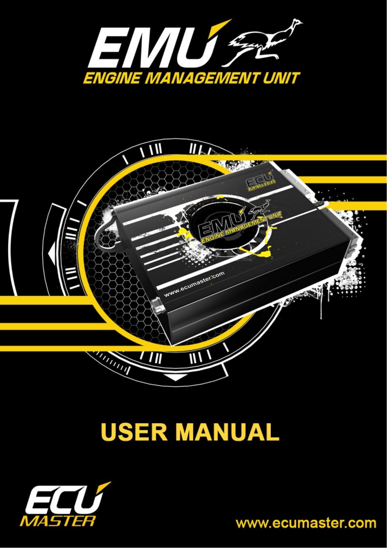 The Ecumaster Emu User Manual  | manualzz com