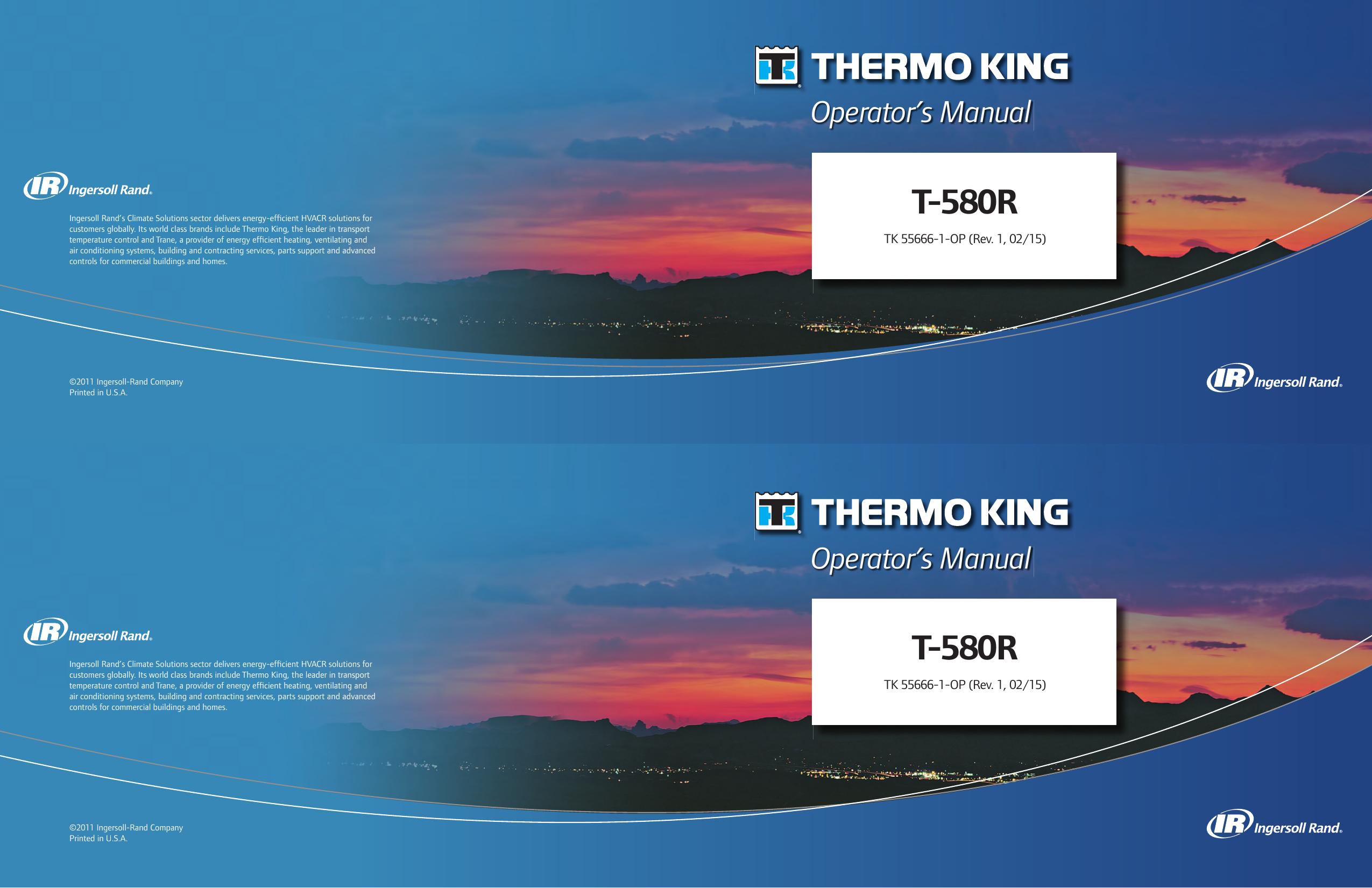 T-580R - Thermo King | manualzz com