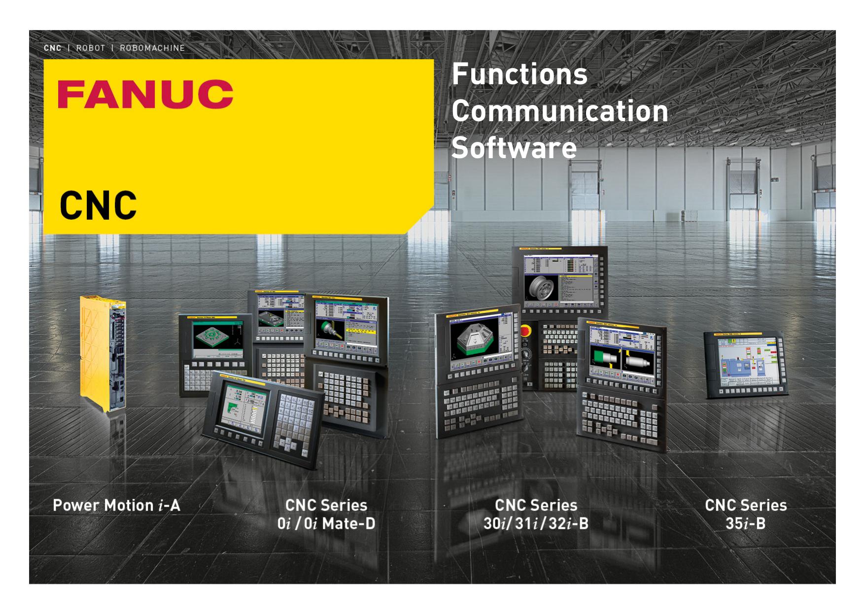 the FANUC function catalogue | manualzz com