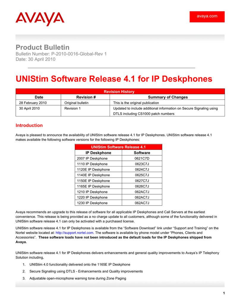 AVAYA 1210 IP PHONE UNISTIM WINDOWS 10 DRIVERS