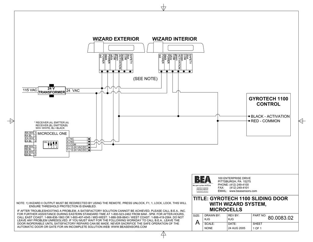 Bea Gyrotech 1100 Users Manual Tormax Wiring Diagram
