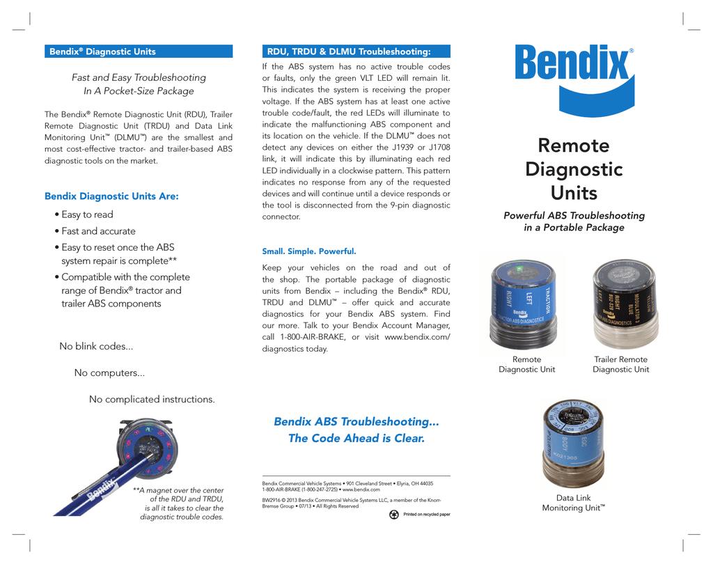 bendix trailer abs system