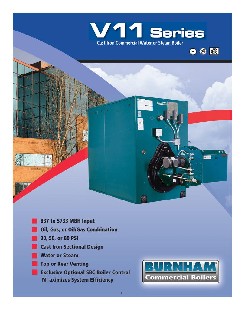 Burnham Series V11 Brochure | manualzz.com