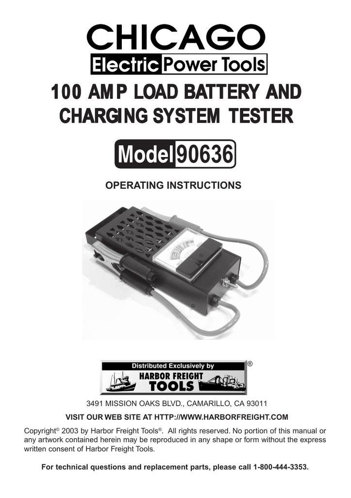 Chicago Electric 90636 User's Manual | manualzz com