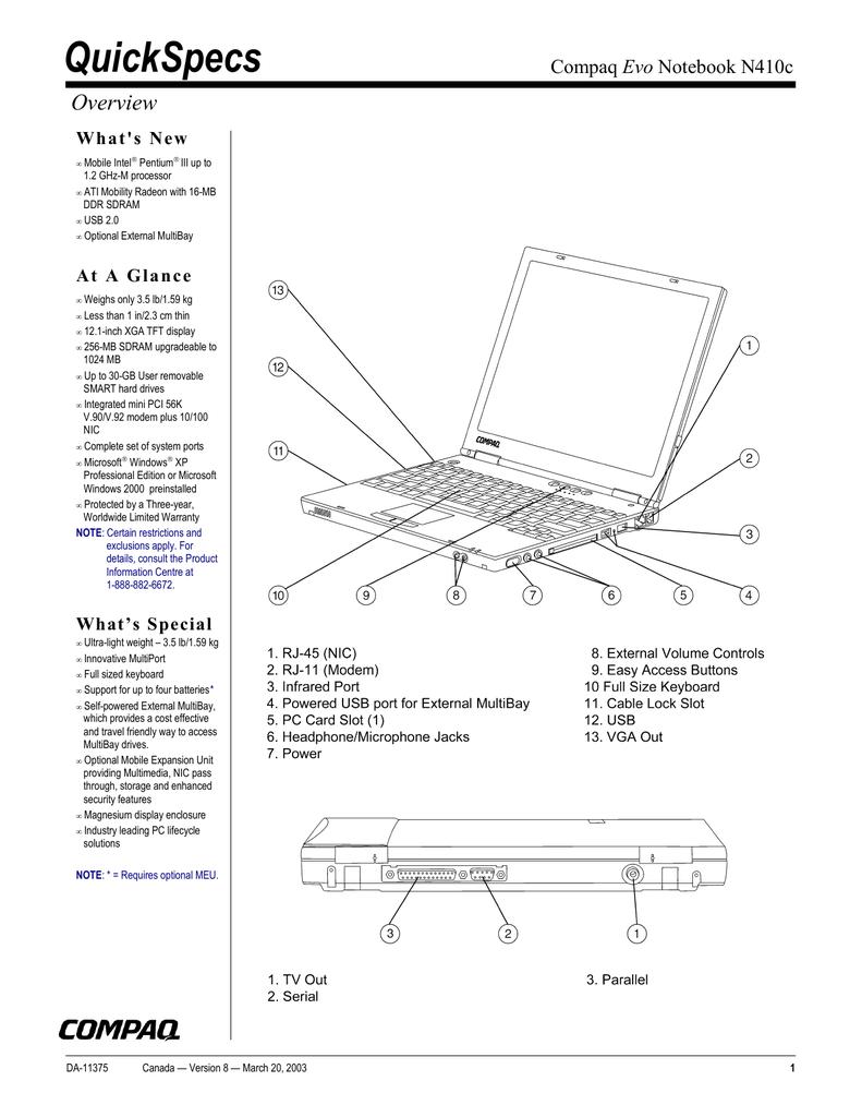 Compaq Evo n400c Notebook 802.11b Module Flash Upgrade Driver Download (2019)