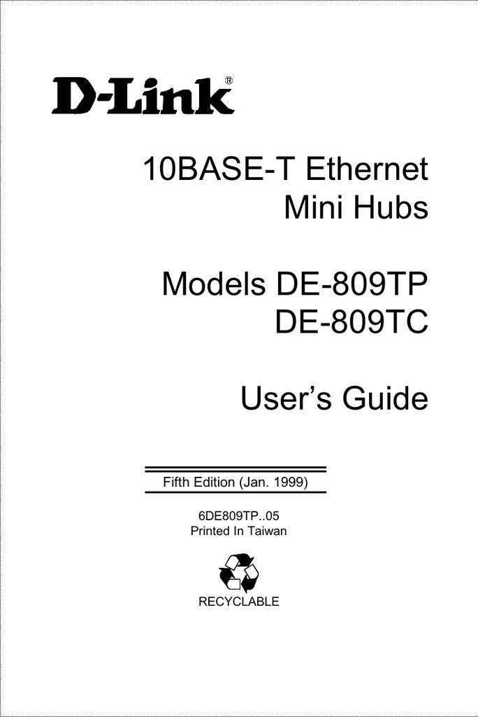 D-link de 809tc hub 8 ports | ebay.