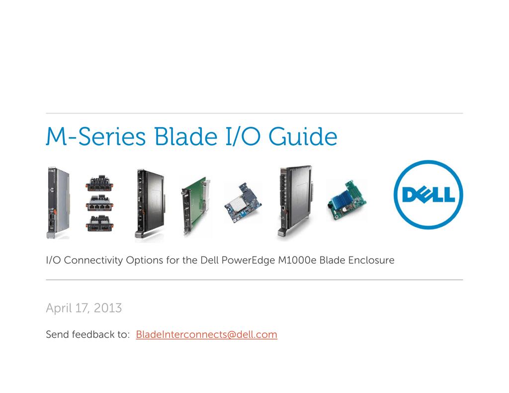 Dell PowerEdge M1000E BladeIO Guide | manualzz com