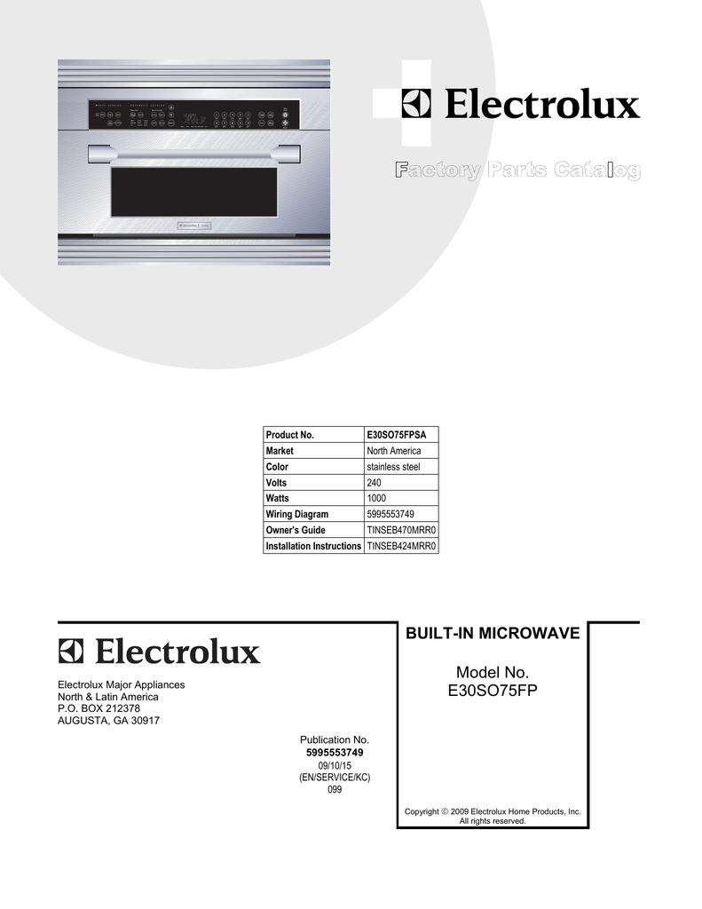 Frigidaire 5304451515 Microwave Spring Unit