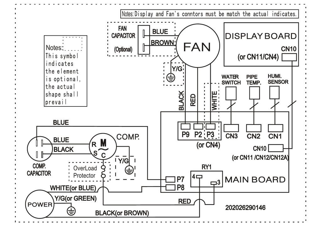 frigidaire fad301nwd wiring diagram manualzz com Whirlpool Wiring Schematics