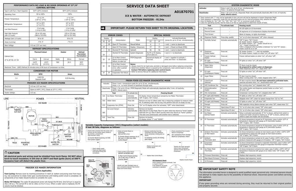 Frigidaire FFHB2740PP Wiring diagram   manualzz.com on