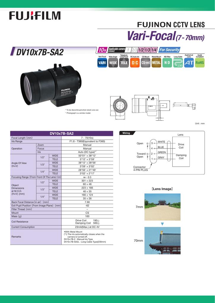 Fujifilm DV10X7B-SA2 User's Manual | manualzz com