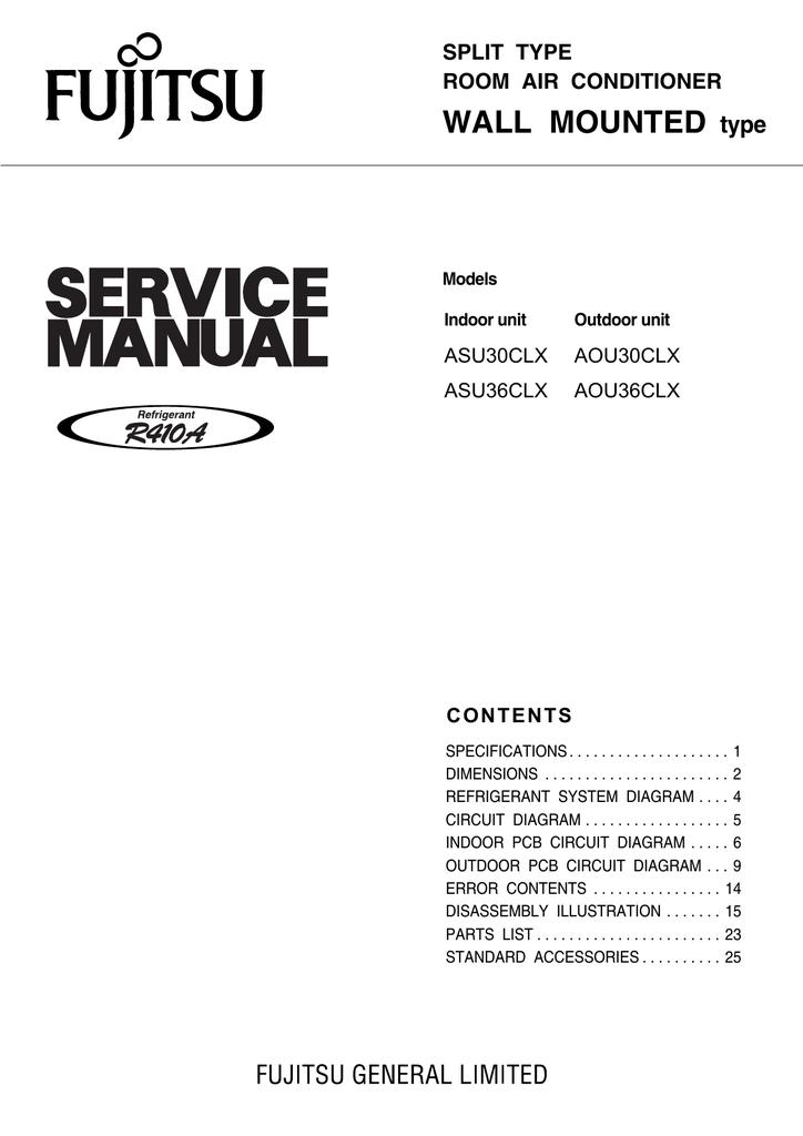 fujitsu aou36clx user s manual manualzz com rh manualzz com  fujitsu aou36clx service manual