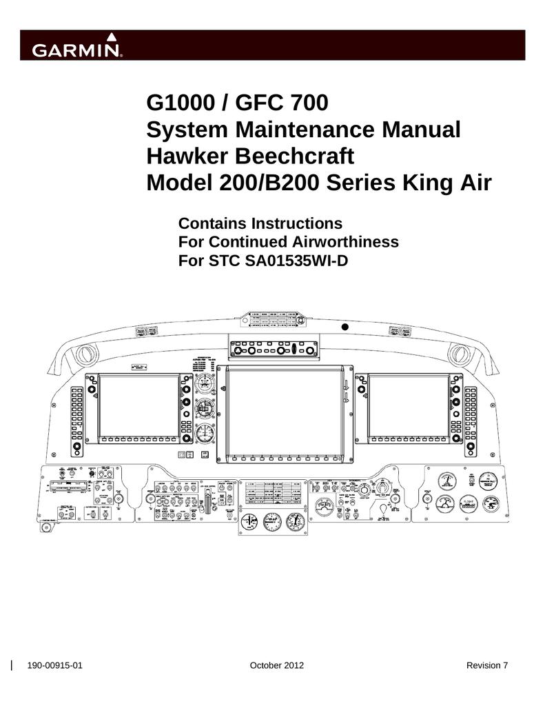 Garmin SA01535Wi_D System Maintenance Manual | manualzz com
