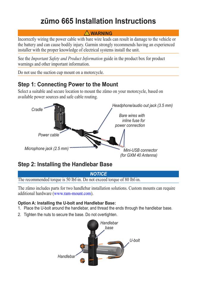 Wire Harness Schematic Zumo 665 - Wiring Diagrams on