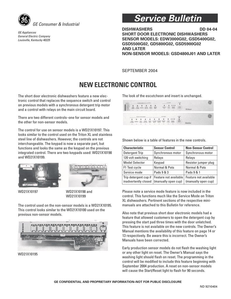Ge Edw3000g02 User S Manual Manualzz