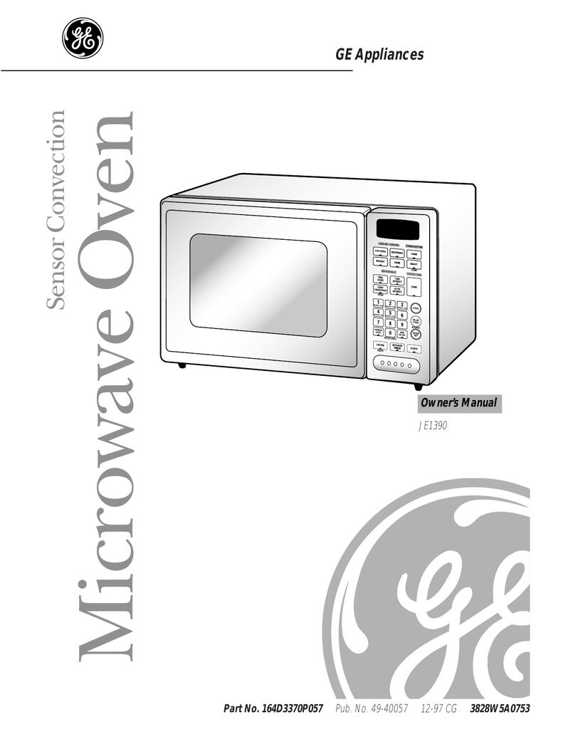 Ge Je1390 User S Manual Manualzz