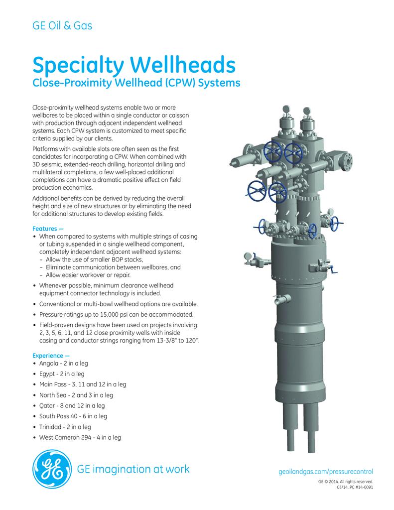 GE Surface Specialty Wellheads Brochure | manualzz com