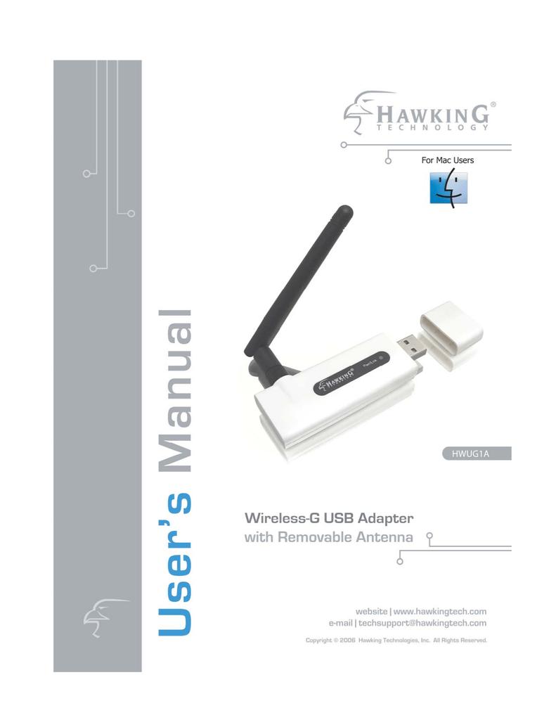 HAWKINGTECH HWU54G MINI WIRELESS-G USB ADAPTER DRIVERS FOR WINDOWS 7