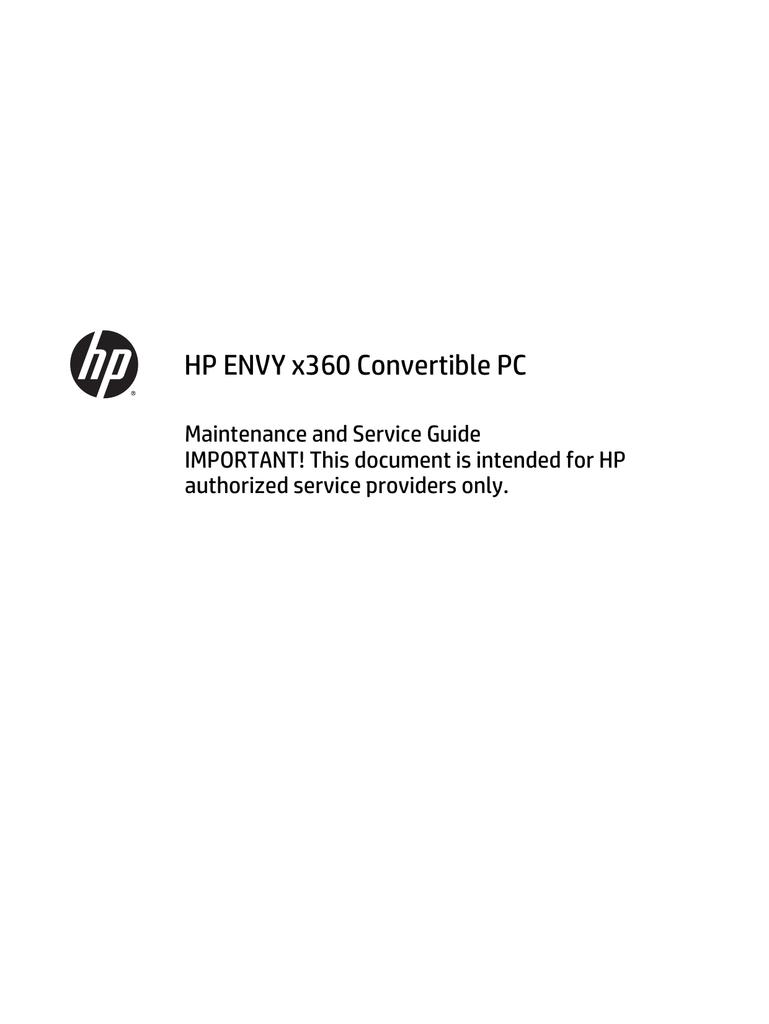HP 15-u010dx Maintenance and Service Guide | manualzz com