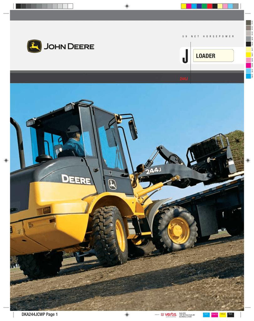 John Deere 244j Users Manual Tractor 4500c Fuse Box Diagram