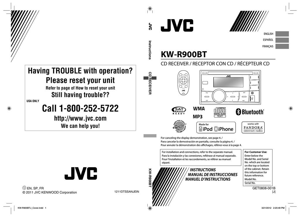 [SCHEMATICS_43NM]  JVC KW-R900BT User manual | Manualzz | Kw R900bt Wiring Diagram |  | manualzz