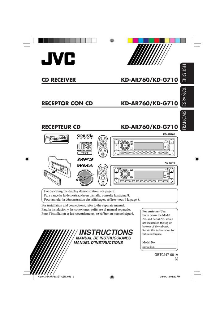 jvc kd g110 wiring diagram jvc kd ar760 supplementary manual manualzz  jvc kd ar760 supplementary manual