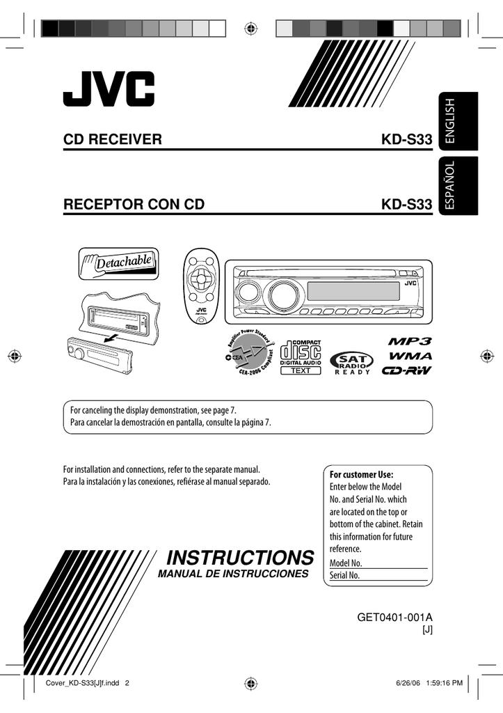 jvc kd s33 user s manual manualzz com rh manualzz com