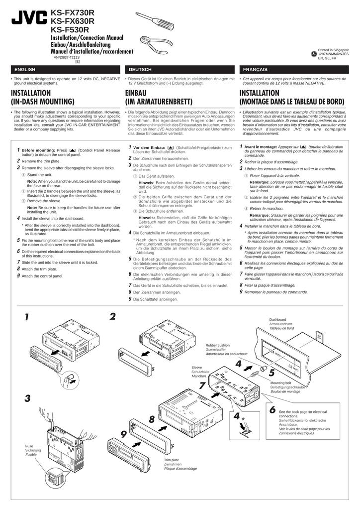 JVC KS-F530R User\'s Manual | manualzz.com