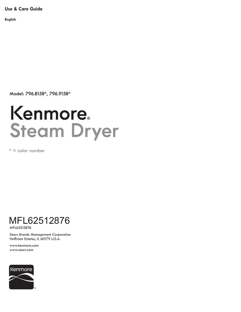 Kenmore Elite 81582 Owner's manual | manualzz.com on