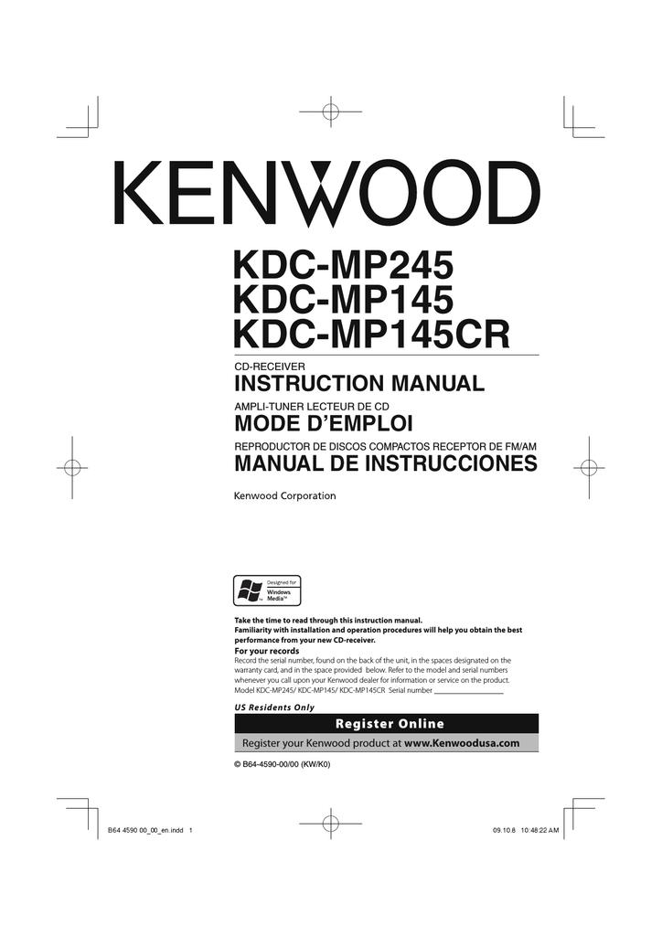Wiring Diagram For Kenwood 7017