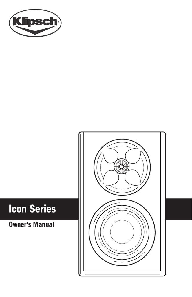 Klipsch WB-14 User's Manual | manualzz com