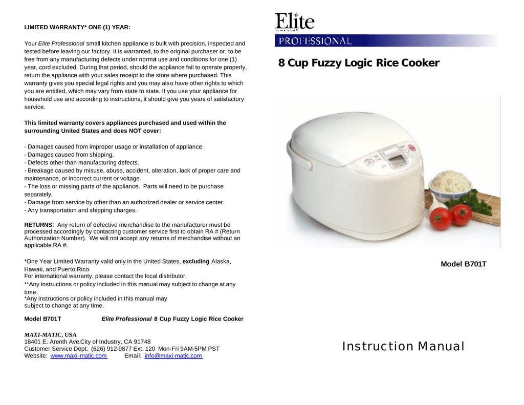 Maximatic B701t Users Manual Manualzz