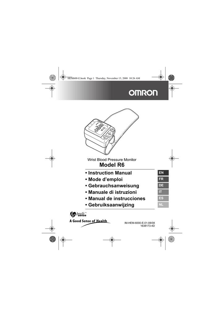 omron r6 user s manual manualzz com rh manualzz com omron r6 manual de instrucciones omron r6 manual de instrucciones